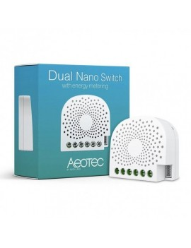 Aeotec Z-Wave Dual Nano Switch