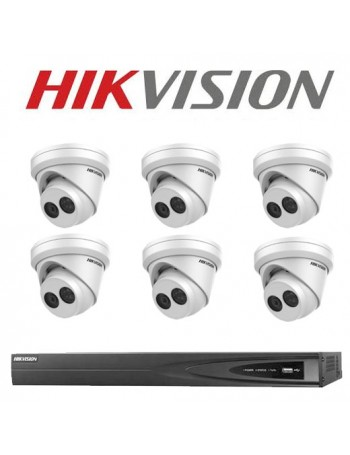 8MP 8CH Hikvision CCTV Kit:...