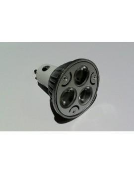3x3Watt GU10 LED - Warm White