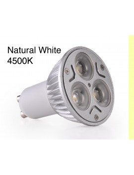 3x3Watt GU10 LED - Natural White