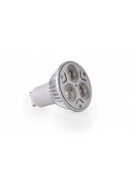 3x3Watt GU10 LED - Natural White