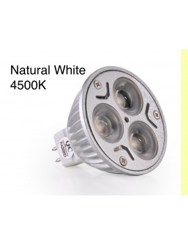 3x3Watt MR16 LED - Natural White