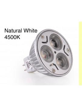 3x3Watt MR16 LED - Natural White